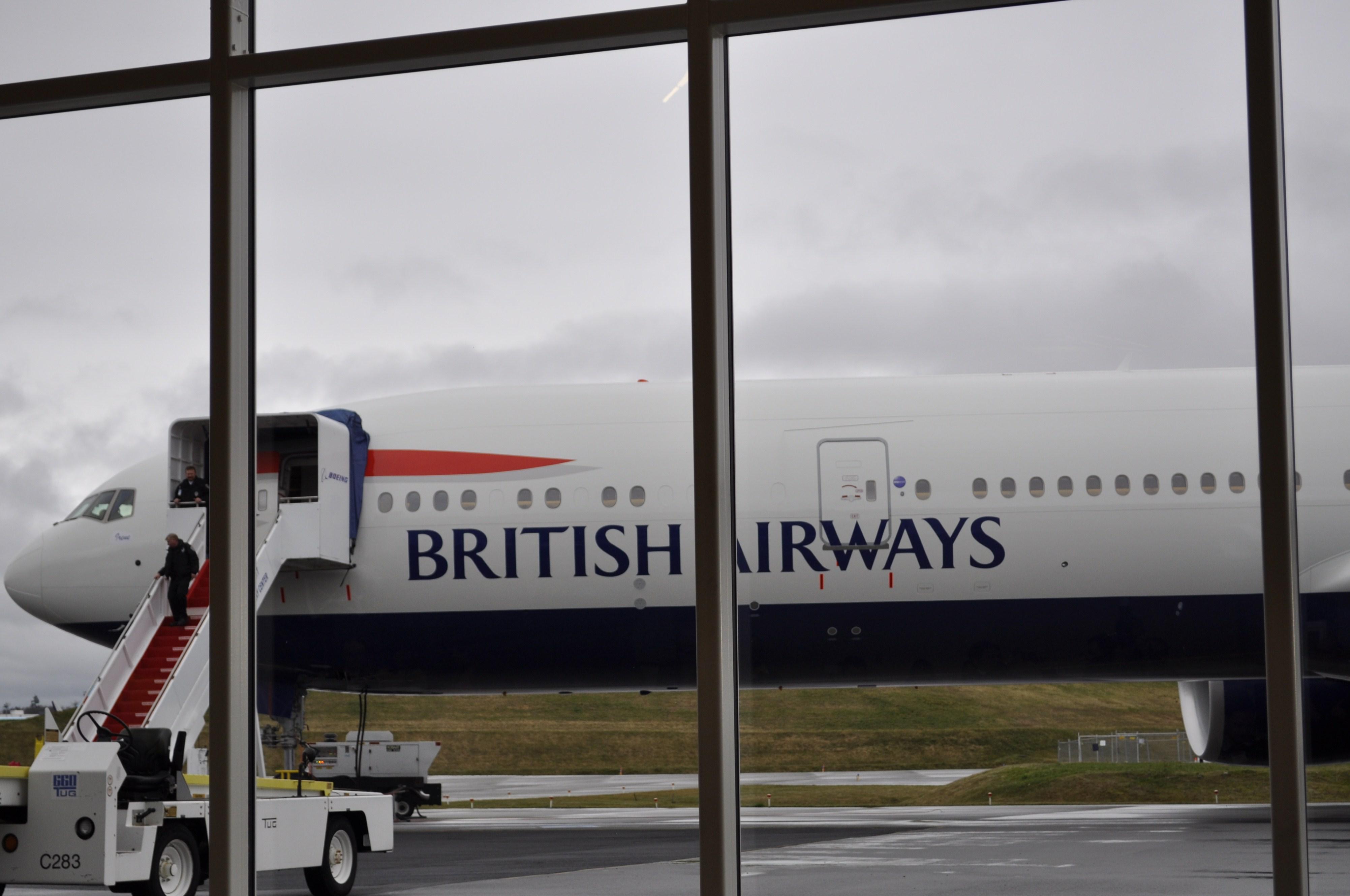 British Airways Boeing 777 Delivery Flight   Continental