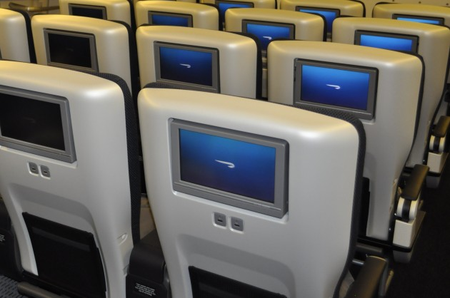 British Airways Boeing 777-336ER World Traveller Plus Cabin