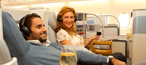 Emirates Business Class Companion Fares