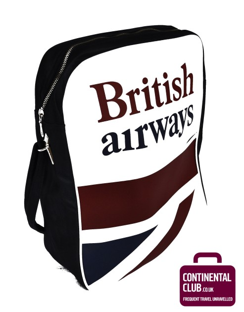 Win A British Airways Retro Cabin Bag With Continental Club