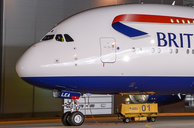 BA Airbus A380 Livery