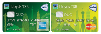Lloyds TSB Avios Duo Cards
