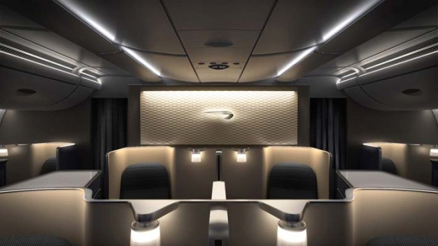 British Airways A380 First Class Cabin
