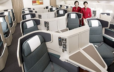 Cathay Pacific Business Class Sale