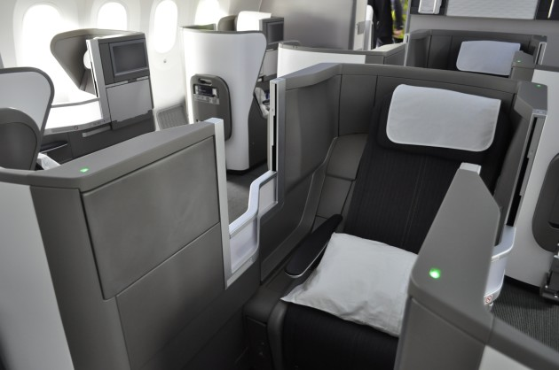 787 Club World Centre Seat