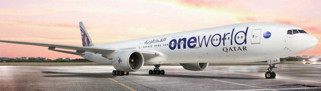 Qatar oneworld aircraft