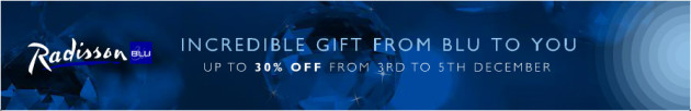 Radisson BLU Flash Sale