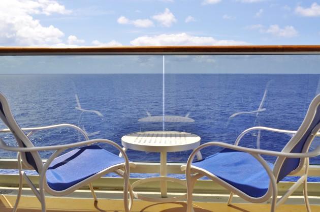 Cunard Queen Victoria Balcony