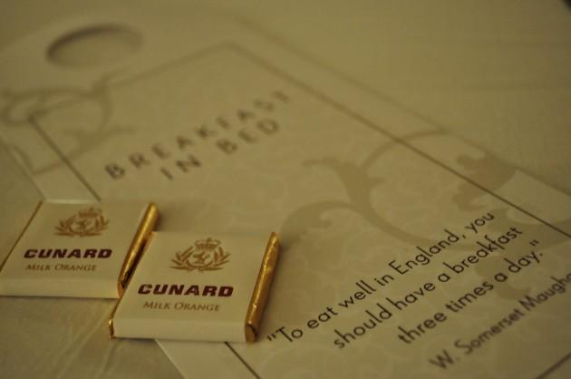 Cunard Queen Victoria Turndown Service