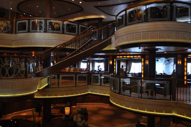 Cunard Queen Victoria Grand Lobby