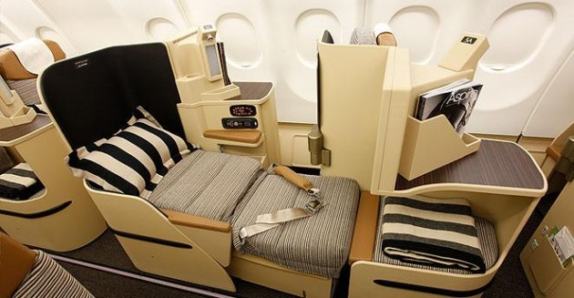Etihad BusinessClassSeat