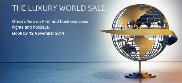 BA Luxury Sale Autumn 2014
