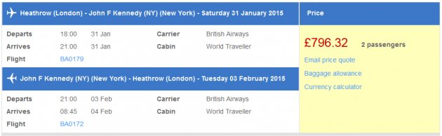 British Airways - Price quote 2014-11-28 02-28-30