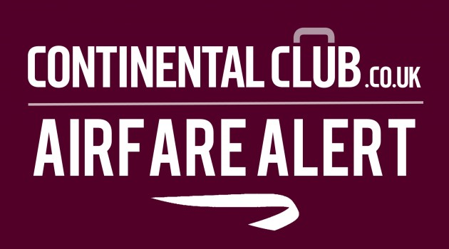 Continental Club Air Fare Alert BA