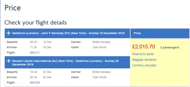 british-airways-price-quote